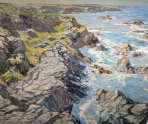by Walter Elmer Schofield, Courtesy of Woodmere Art Museum