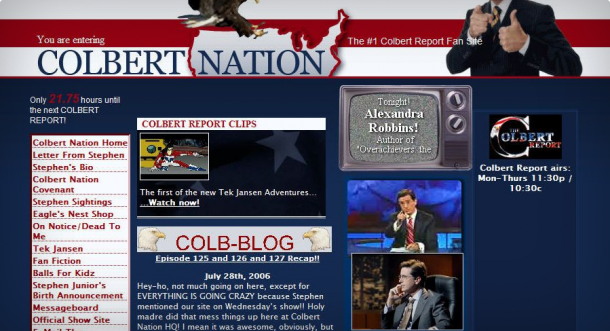 COLBERT feature