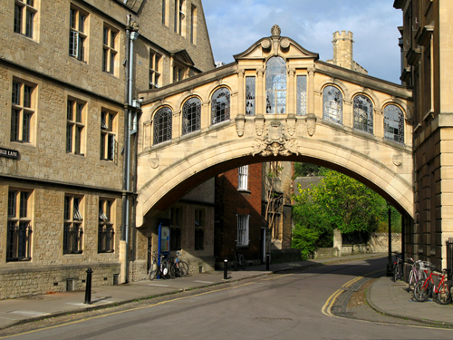 Oxford bridge
