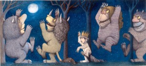 Final drawing for Where the Wild Things Are. Pen and ink, watercolor. © Maurice Sendak, 1963. All rights reserved. Courtesy of the Rosenbach Museum <span class=